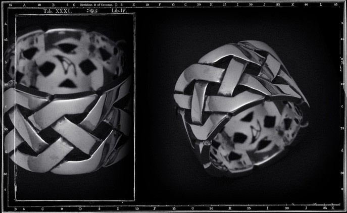 LARGE CELTIC KNOTS ring