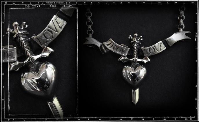 True Love Pendant with chain