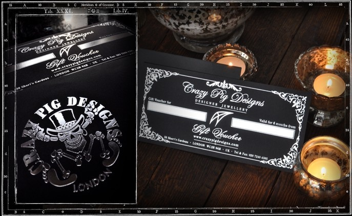 Crazy Pig Designs Gift Voucher £100