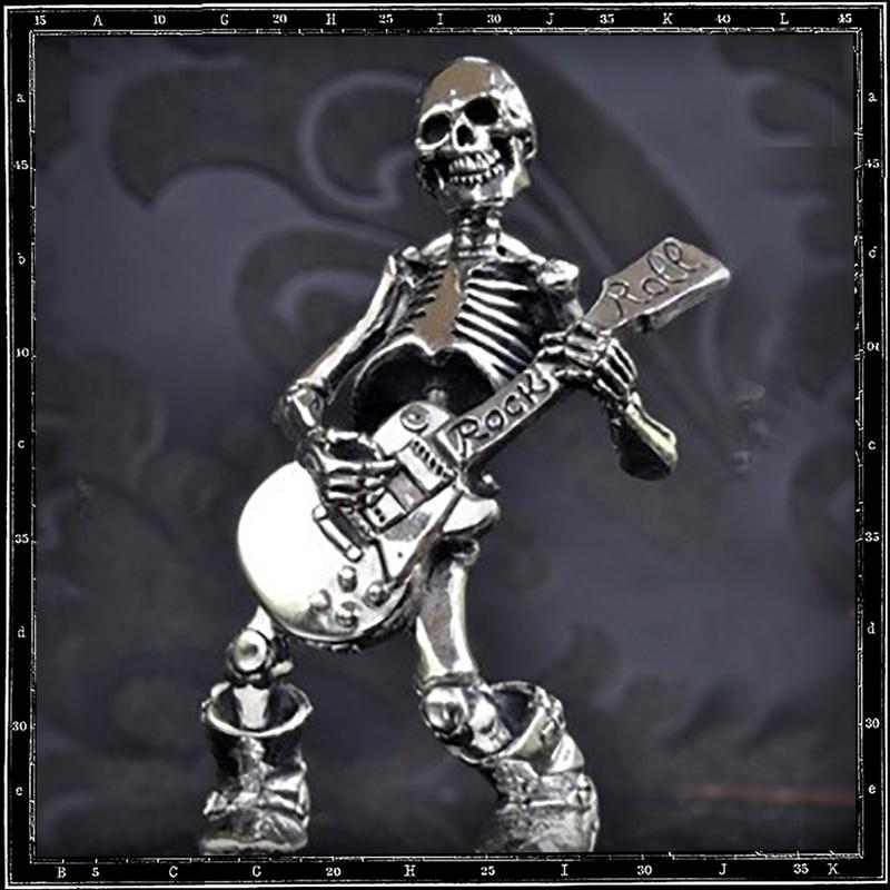 Till Death / Guitar Skeleton Pendant