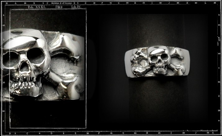 Skull and crossbone band
