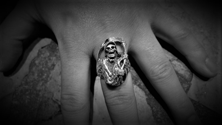 Large grim reaper RING