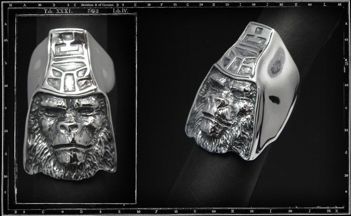 Planet Of The Apes Urko Ring Crazy Pig Designs Jewellery