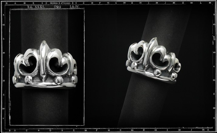 Tudor crown ring