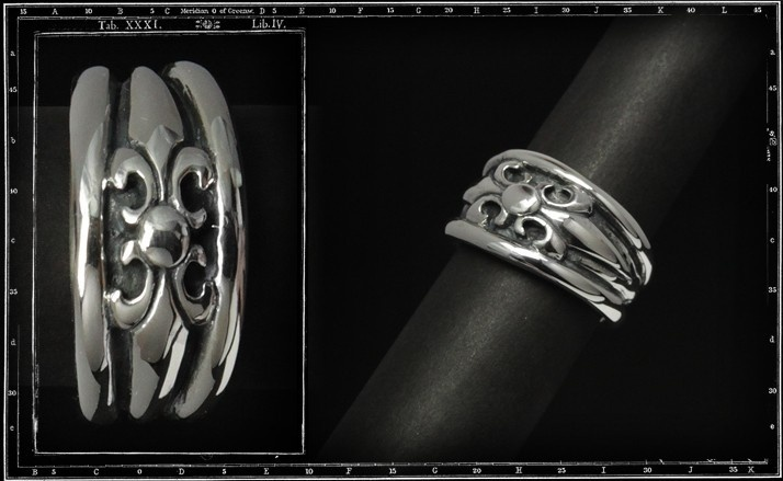 High dome tudor ring (large)