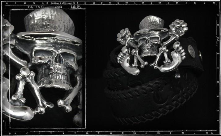 Mascot skull buckle & belt