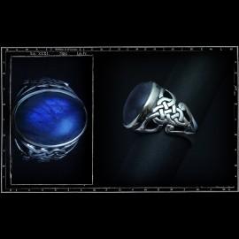 Large Celtic Knots Stone Ring