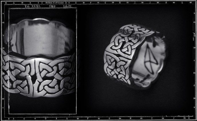 DOUBLE CELTIC BAND RING