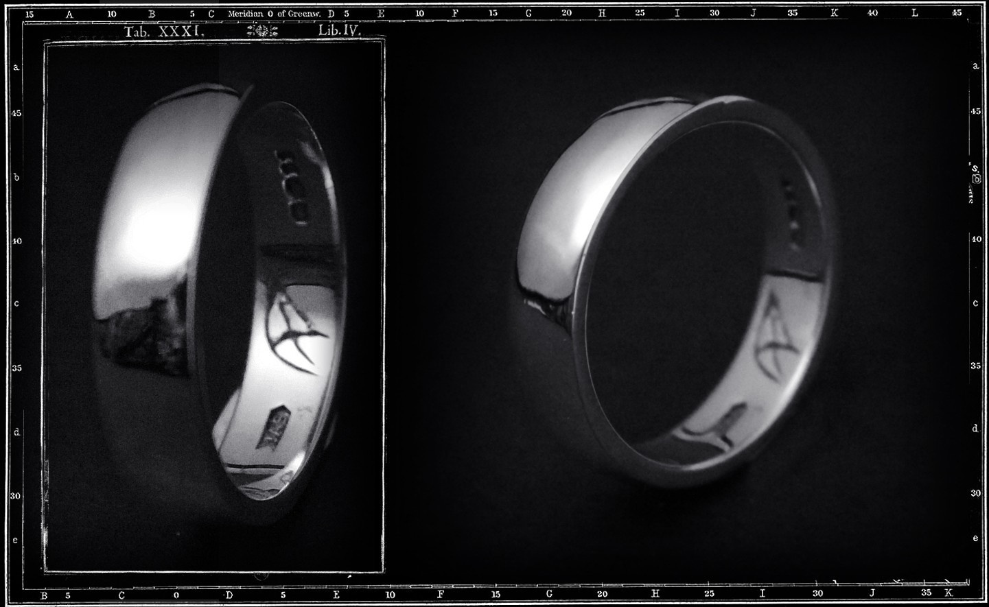 LIGHT PLAIN BAND RING (6mm x 2mm)