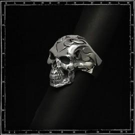 Tribal skull ring
