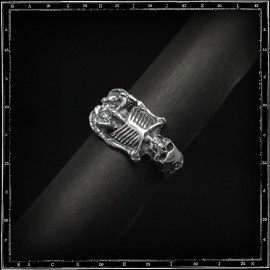 Sid Skeleton skull ring