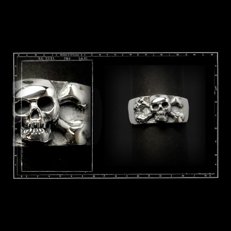 Skull and crossbone band