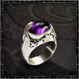 Stargazer stone setting ring