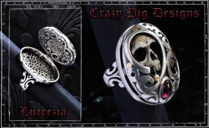 Collectors Series - Lucrezia Poison / Locket Ring