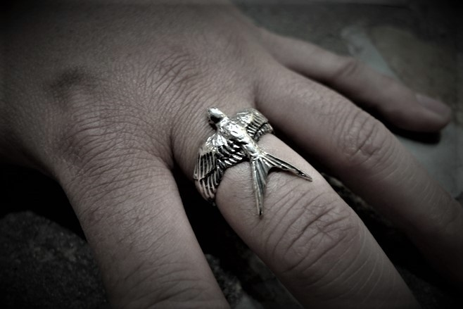 Swallow Bird ring