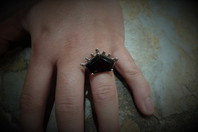 Marquise Crown Setting Ring
