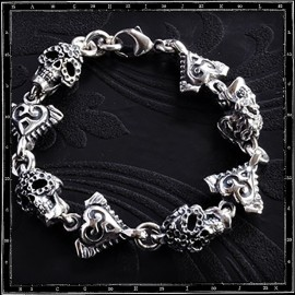 Mariachi Mexican Skull Bracelet