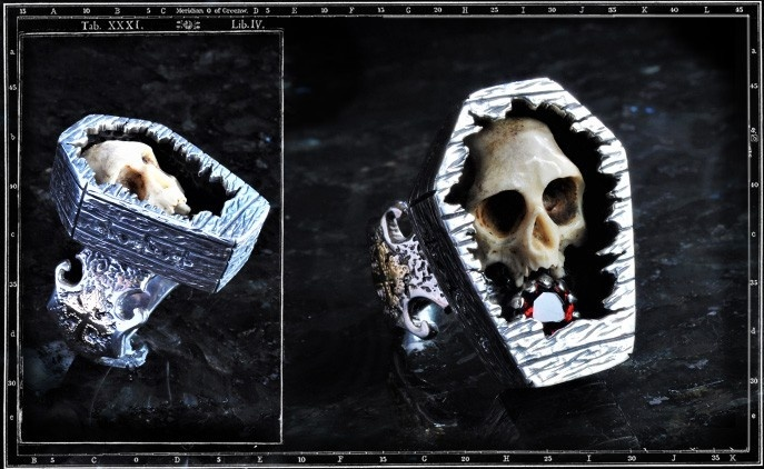 Collectors Series - The Crypt Skull Ring