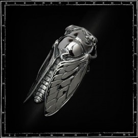 Cicada Insect ring