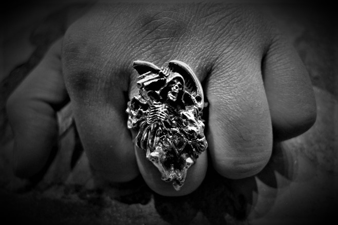 Death Dealer Grim Reaper Ring