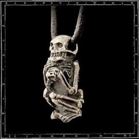 Mummy Skeleton Pendant