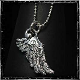 Tudor wing  pendant (chain not inc.)