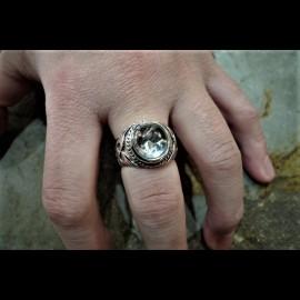 Crystal Skull Ring (Small)