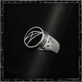 Cpd logo enamel ring