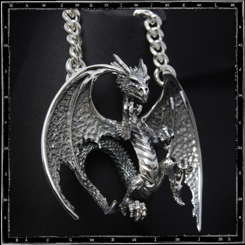 Large dragon pendant