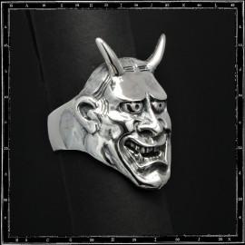 Hannya Japanese Mask ring