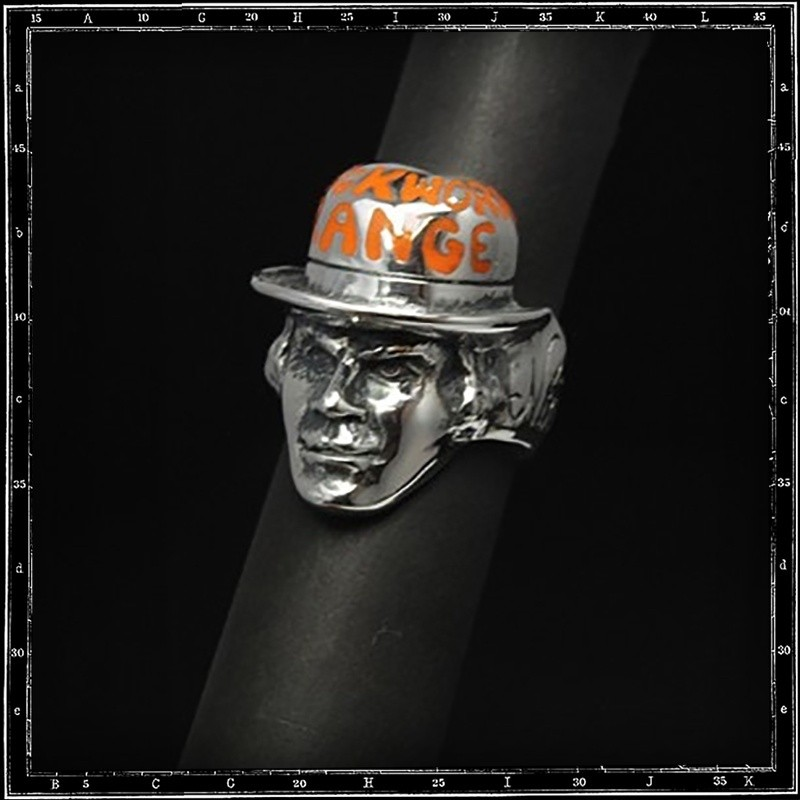 Alex, A Clockwork Orange ring (enamel)