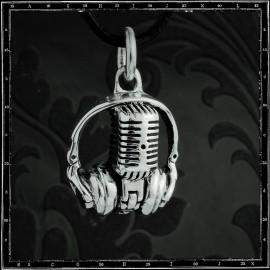 Radio Ga Ga Headphone & Mic Pendant