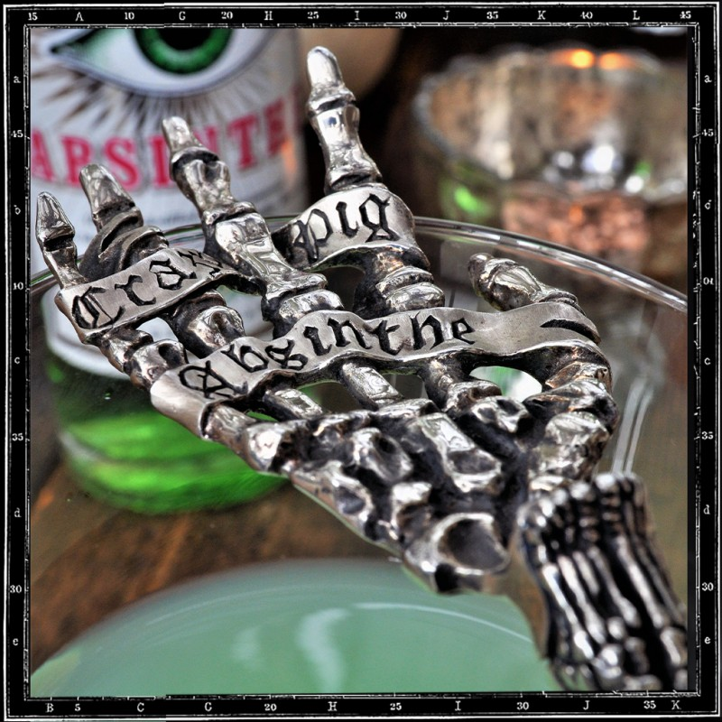 Crazy Pig Designs Absinthe Spoon