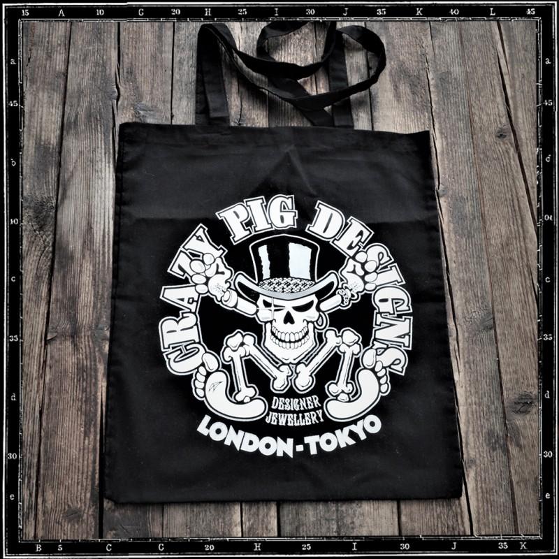 Crazy Pig Designs Tote Bag