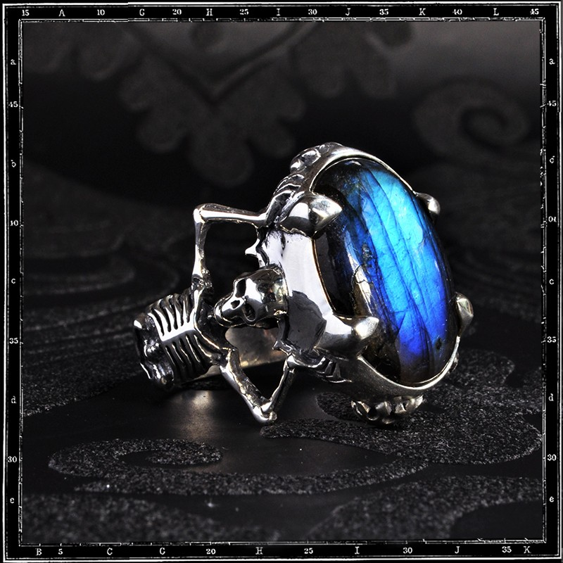 Twin Skeleton Ring