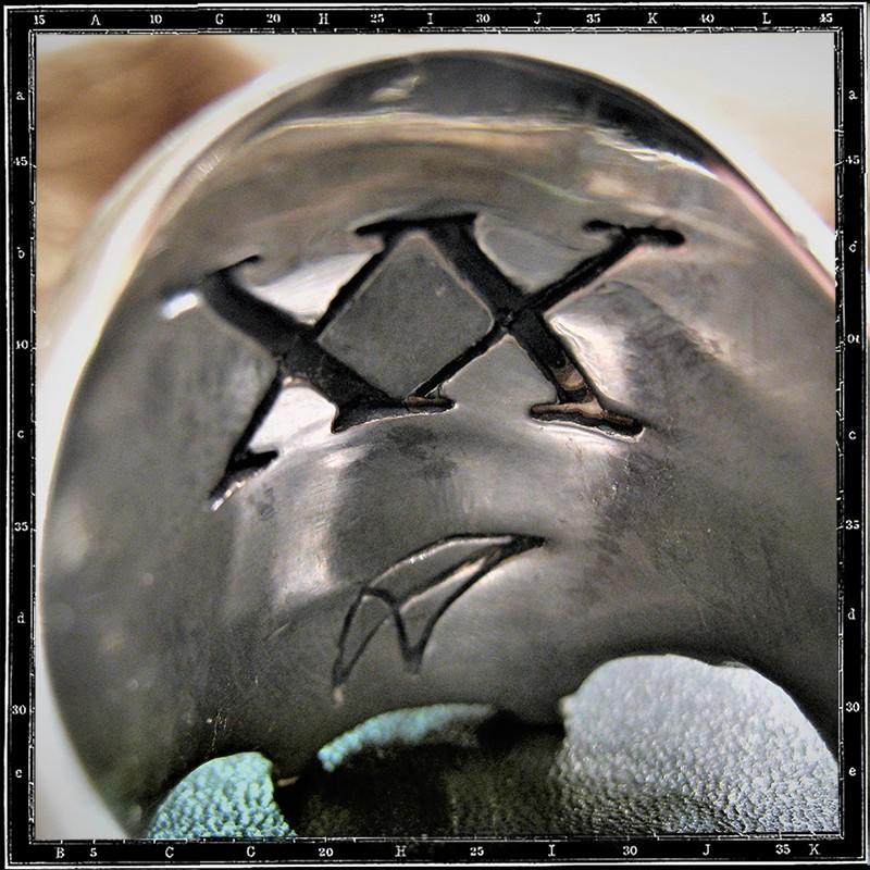 XX Ossuary Skull ring