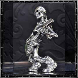 Till Death / Guitar Skeleton Pendant