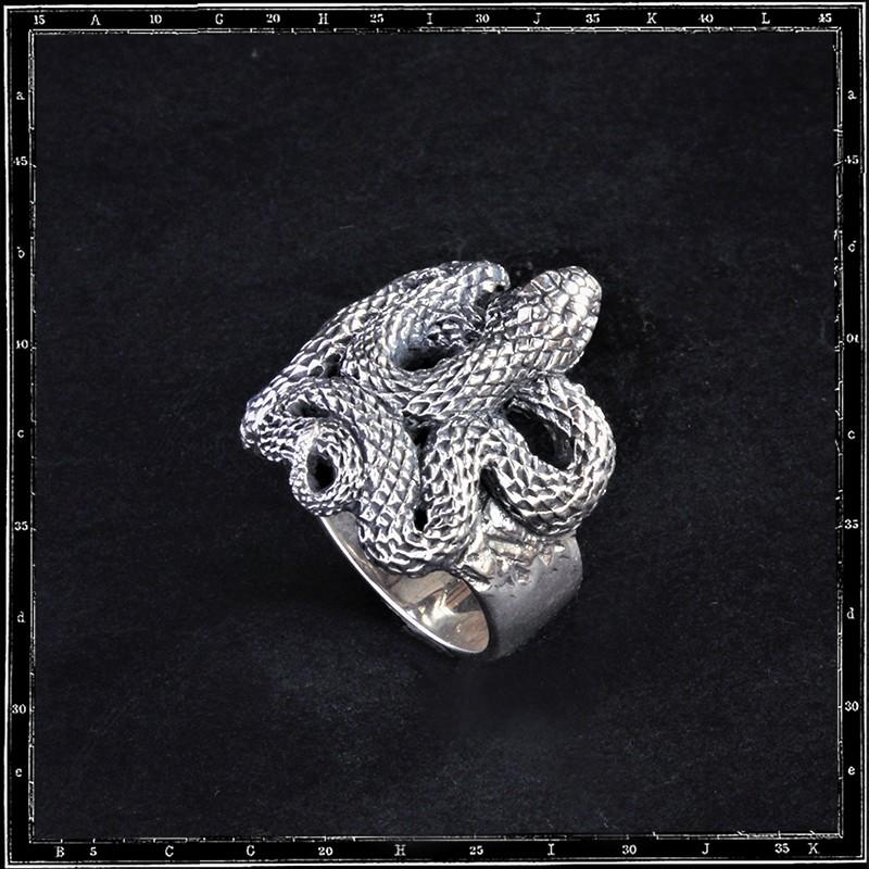 Viper Snake Ring