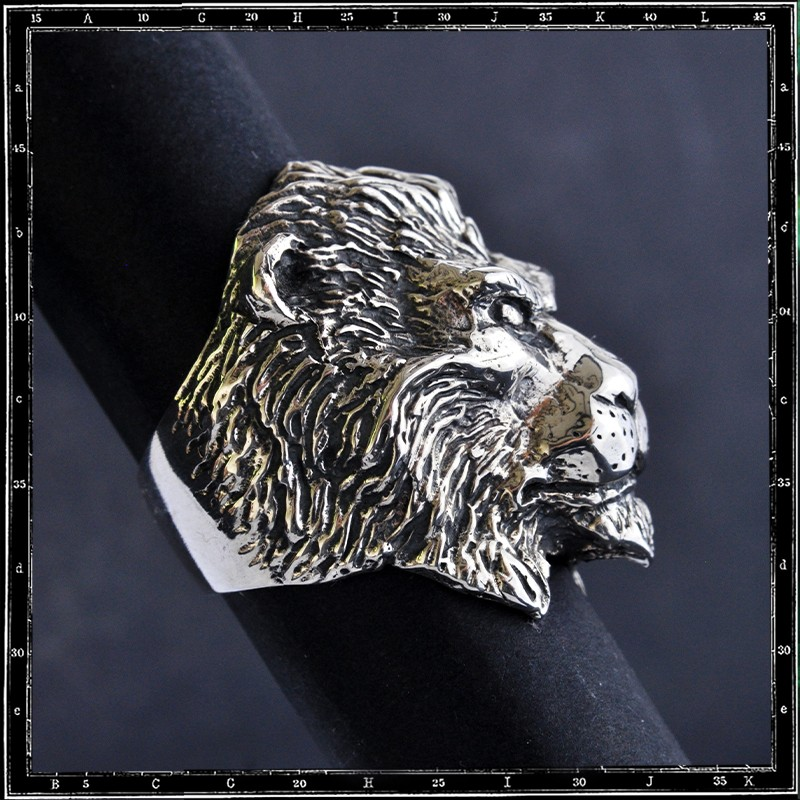 Lion Head Ring (classic)