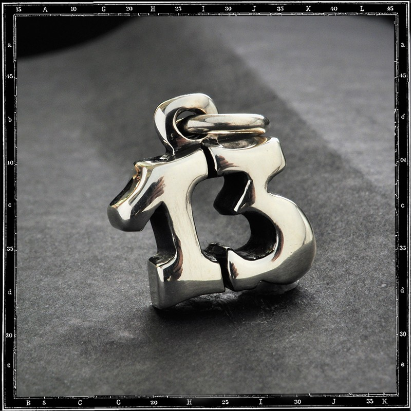 Number 13 Pendant