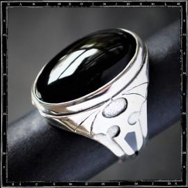 Bat Wings stone ring
