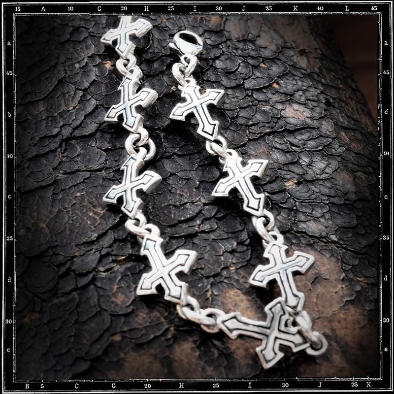 Tudor Cross Link Bracelet