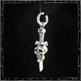 Skull & Dagger Amulet Pendant