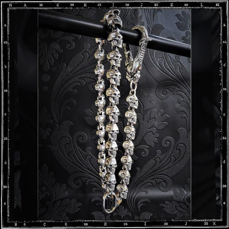 Monastery Skull Wallet Chain