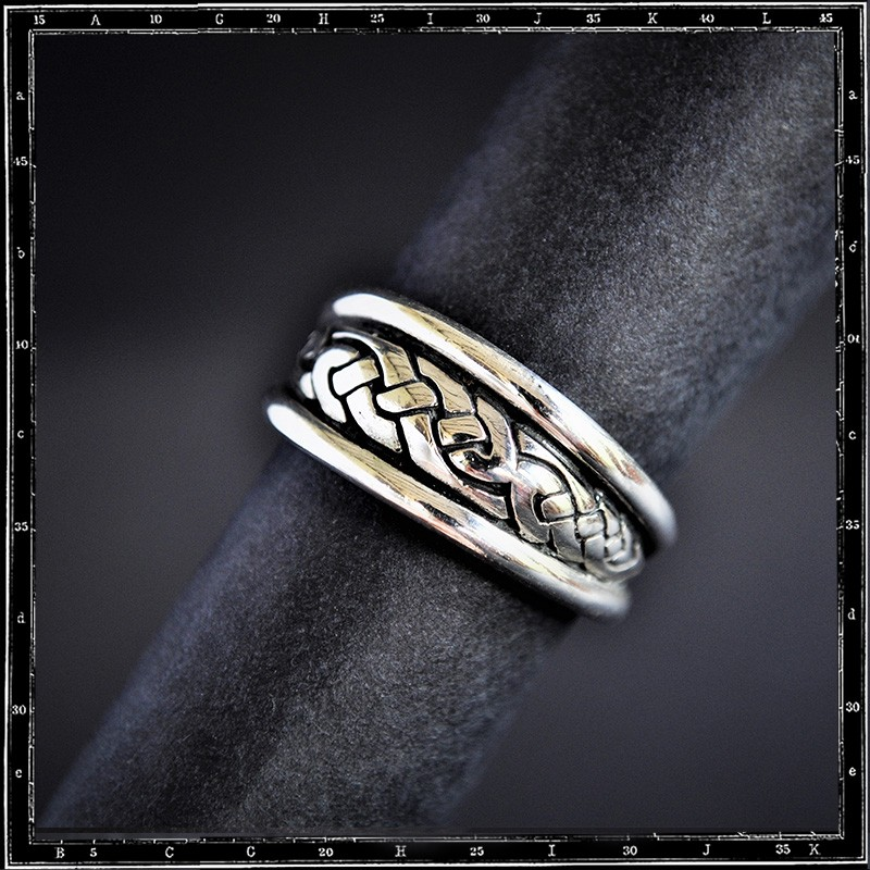 HIGH DOME CELTIC RING (Small)