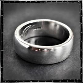 HEAVY PLAIN BAND RING (9mm x 3mm)