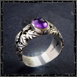 Leaves Band Ring