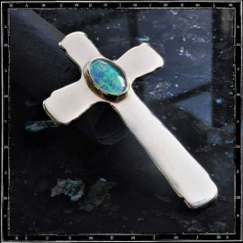 Santa Fe Cross Pendant