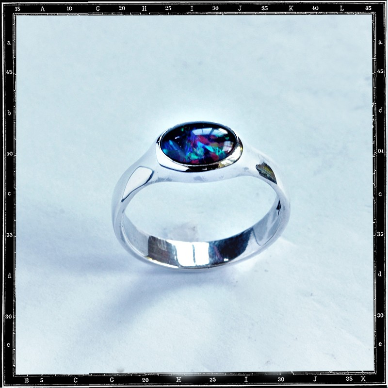 Plain setting ring (10x8mm)
