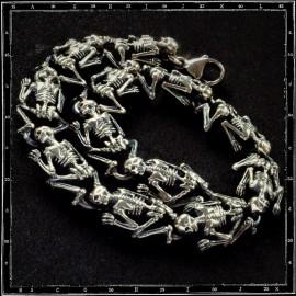 Skeleton Link Bracelet